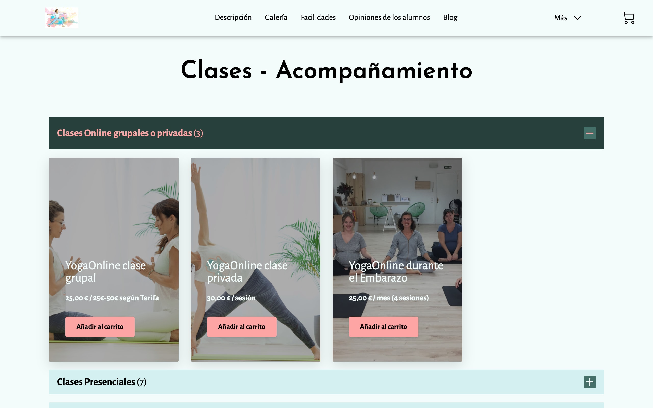 Olga Amrit Yoga   Productos